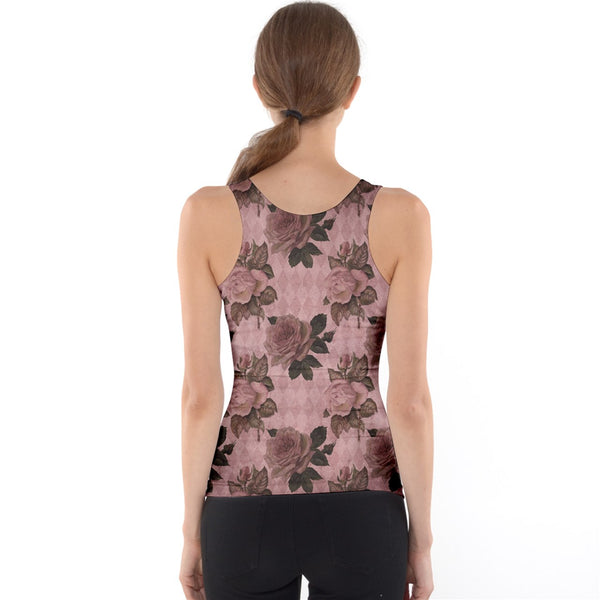 The Carol Tank - Vintage Rose - Spangle