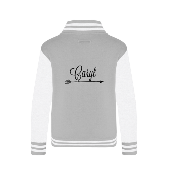 Cherokee Rose in Beer Bottle Varsity Jacket - Spangle