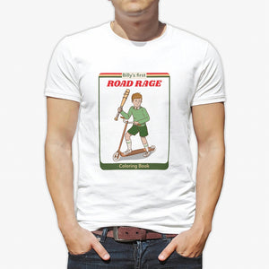 Funny Billy's First Road Rage T-Shirt - Spangle