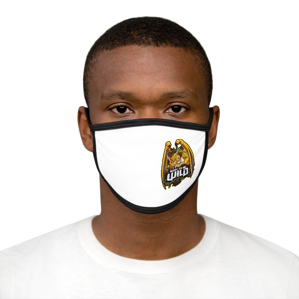 Born To Be Wild Dragon Logo Mask - Spangle