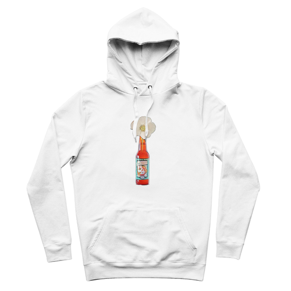 Cherokee Rose in Beer Bottle Premium Adult Hoodie - Spangle