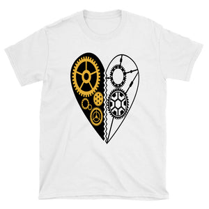 Steampunk Heart Unisex T-Shirt - Spangle