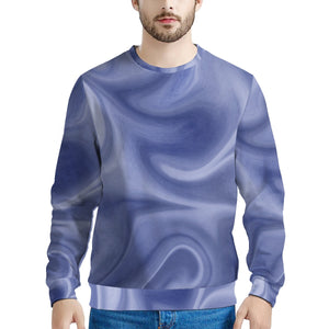 Blue Swirl Unisex Crewneck Sweatshirt - Spangle