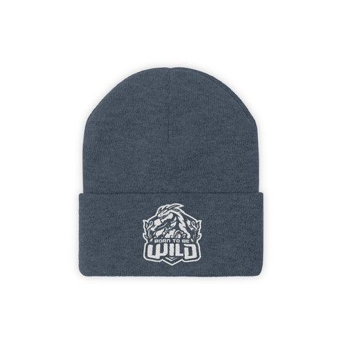 Born To Be Wild Knit Beanie - Spangle
