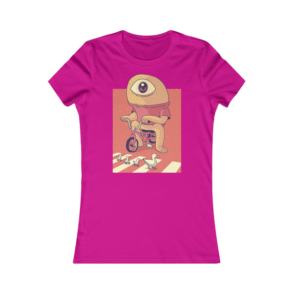 Cyclops on a Tricycle Women's Favorite Tee - Spangle