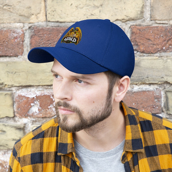 Born To Be Wild Dragon Unisex Twill Hat - Spangle