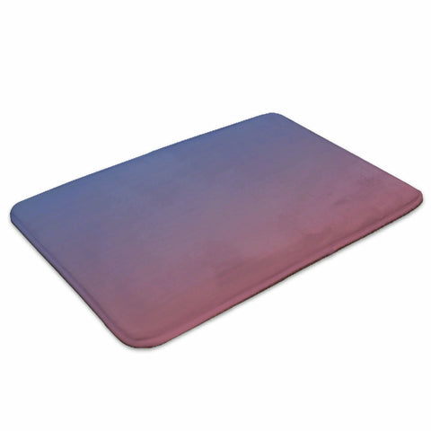 Blue and red ombre mat for bathroom, kitchen, doorway, etc - Spangle