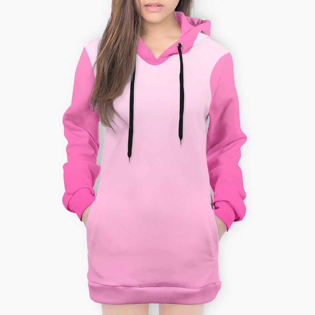 Pink Ombre Oversized Hoodie - Spangle