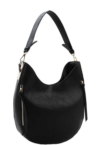 Fashion Chic Trendy Hobo Bag With Long Strap - Spangle