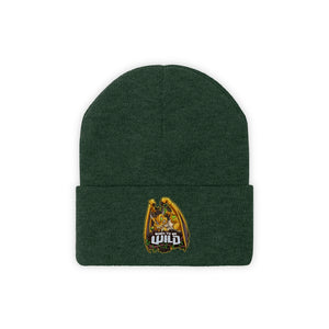 Born To Be Wild Dragon Knit Beanie - Spangle