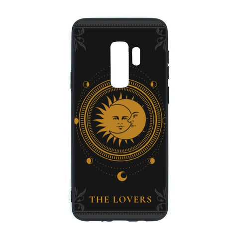The Lovers Tarot Card Samsung S9 Plus TPU Soft Case