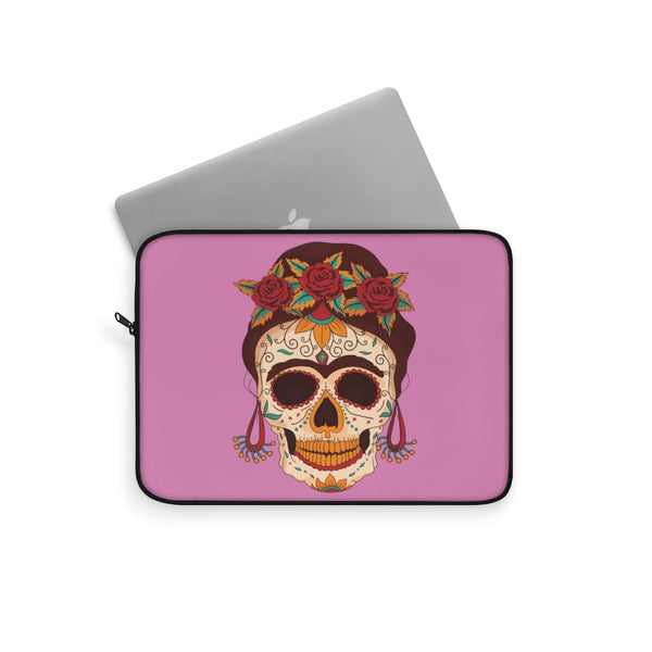 Sugar Skull Laptop Sleeve - Spangle