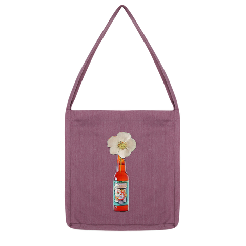 Cherokee Rose in Beer Bottle Classic Tote Bag - Spangle