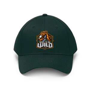Born To Be Wild Logo Unisex Twill Hat - Spangle