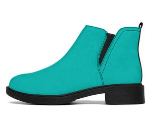 Blue Girl - Suede Boots - Spangle