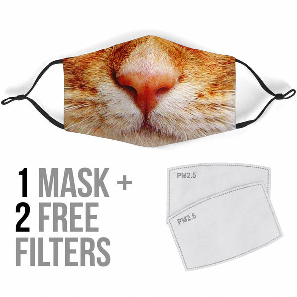 Cat Face Mask - Spangle