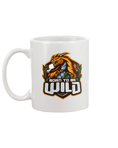 Born To Be Wild Logo 11oz Mug - Spangle