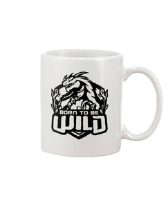 Born To Be Wild Black Logo 11oz Mug - Spangle
