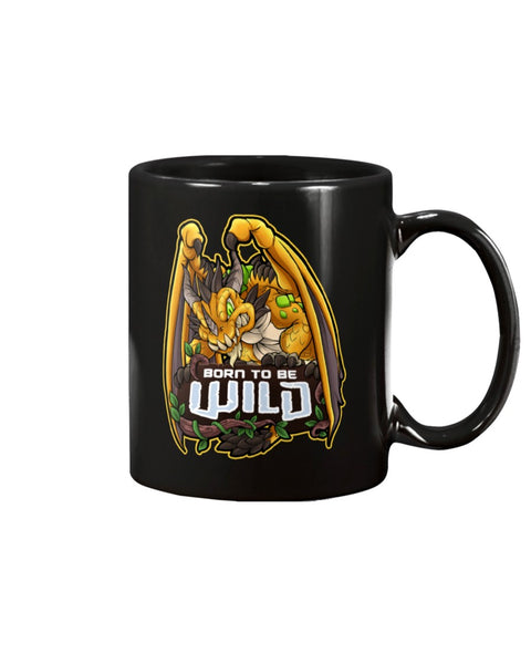 Born To Be Wild Dragon 15oz Mug - Spangle