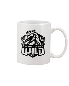 Born To Be Wild Black Logo 15oz Mug - Spangle