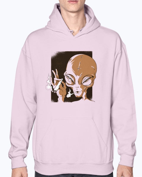Extraterrestrial Cannabis Tourism Hoodie - Spangle