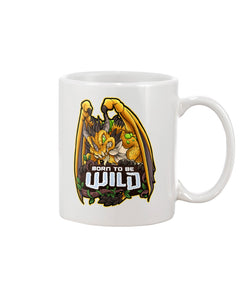 Born To Be Wild Dragon 11oz Mug - Spangle