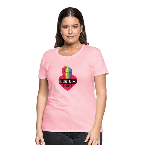 LGBTQI+ Rights Women's Premium T-Shirt - Spangle