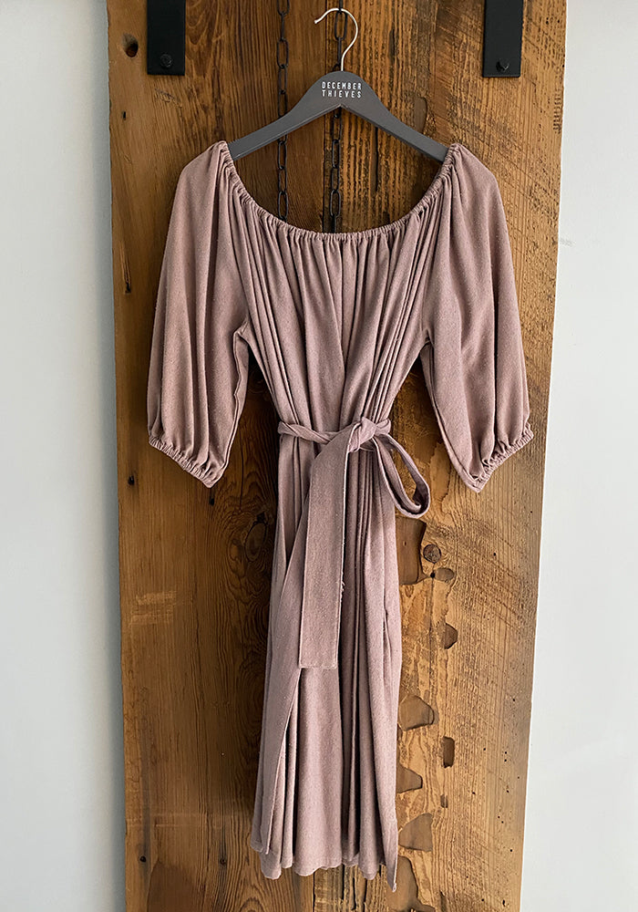 Cassatt Dress in Indigo or Mauve