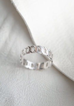 Sterling Silver Grand Ring No 1