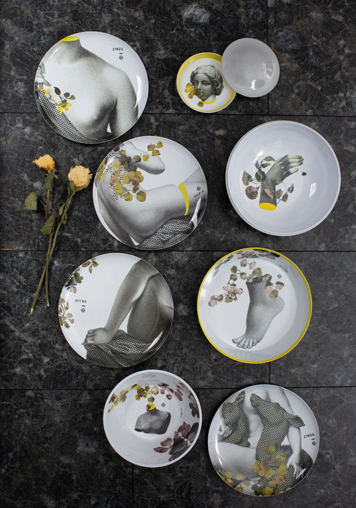 Parnasse Yuan Stacking Bowl and Plate Set - December Thieves