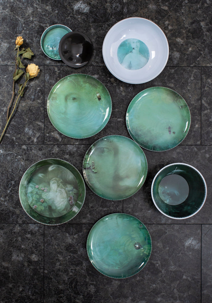 Narcisse Yuan Stacking Bowl and Plate Set - December Thieves