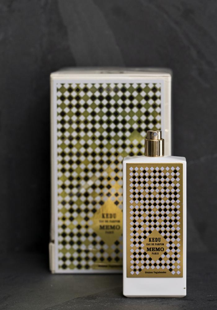Memo Paris Kedu perfume bottle and packaging