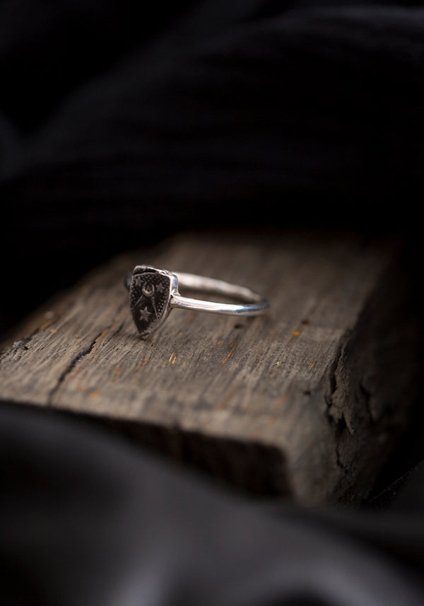 Moon & Stars Talisman Ring