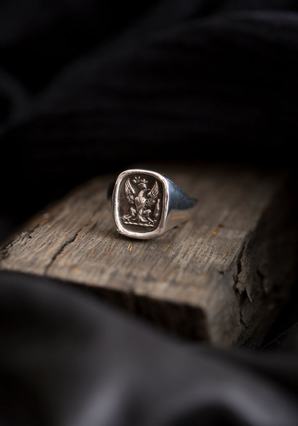 Follow Your Dreams Talisman Signet Ring