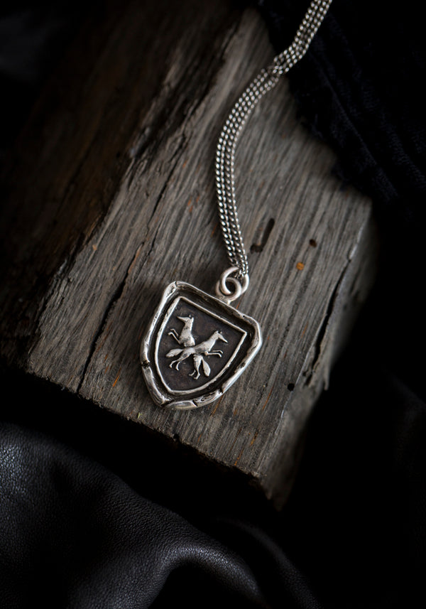 Thick as Thieves Talisman Necklace
