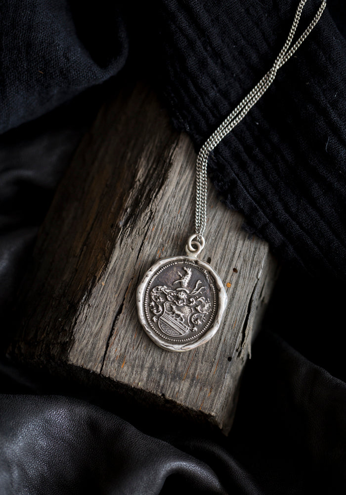 Heart of The Wolf Talisman Necklace