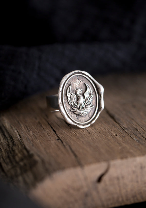 Fire Within Talisman Ring