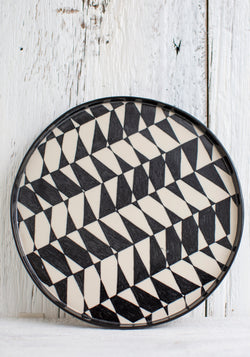 No. 12 Hand Painted Ceramic Platter