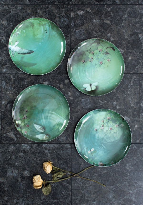 Narcisse Yuan Four Plate Set