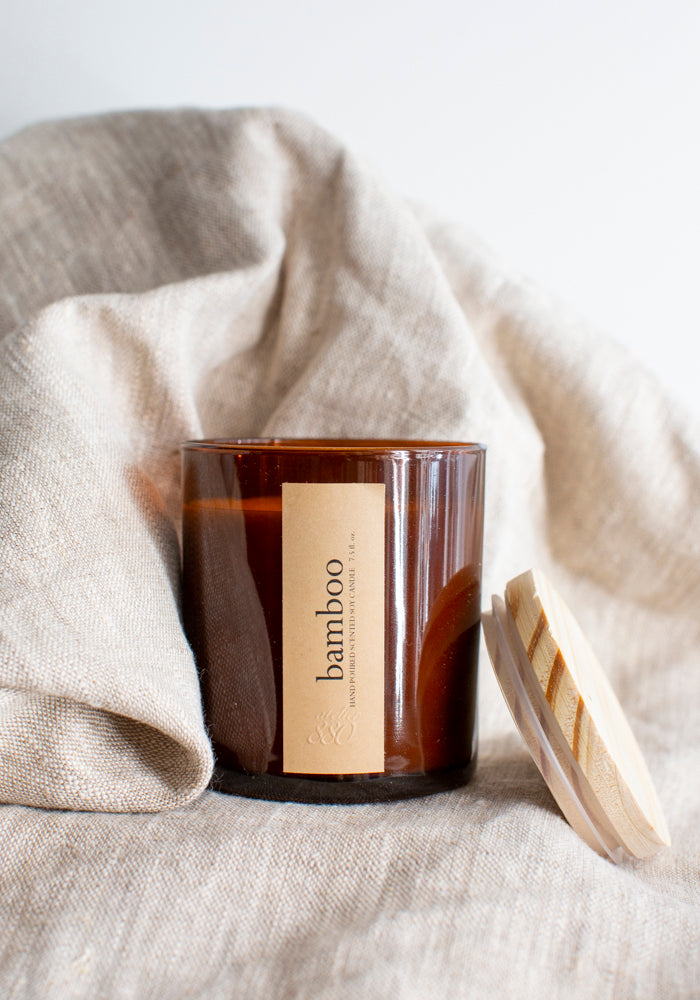 Bamboo Scented Candle