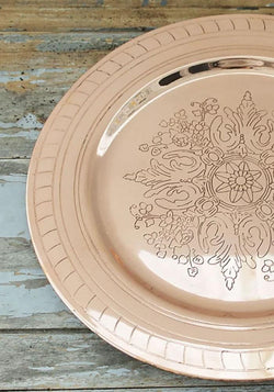 Style 4 French Inspired Copper Plate