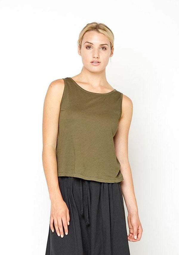Boxy Cotton Tank
