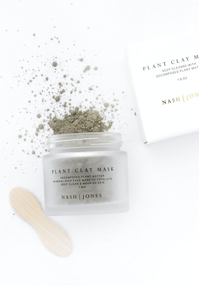 Plant Clay Mask