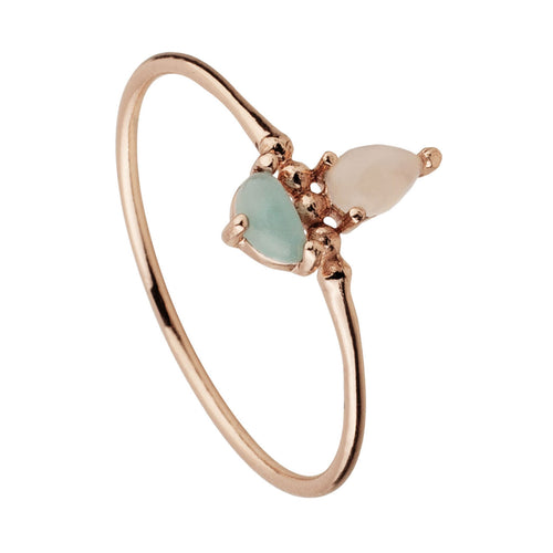 ANILLO ADRIANA ROSE GOLD