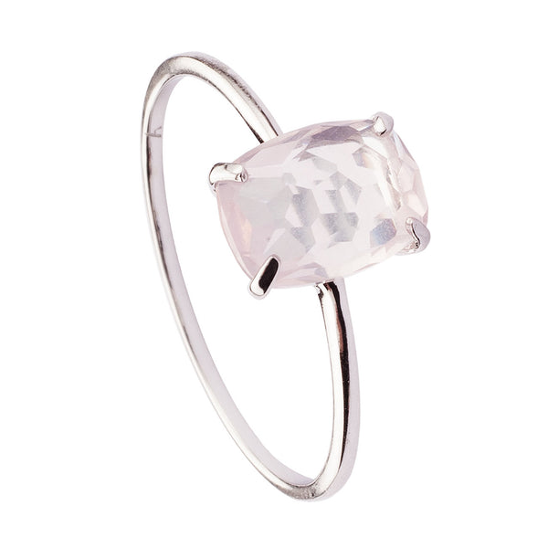 ANILLO BEATRIZ ROSE  SILVER