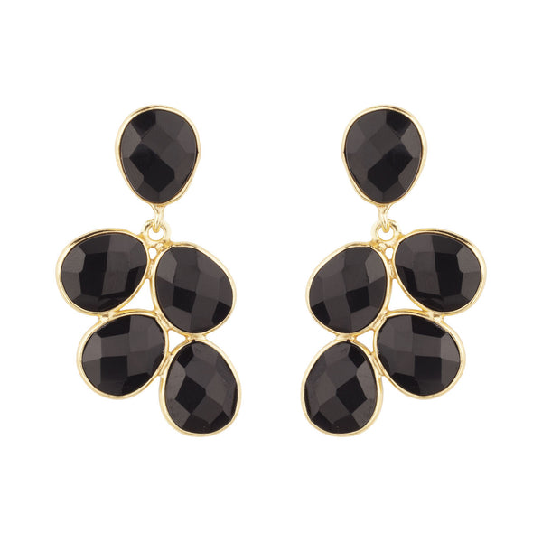 PENDIENTES GRAPES BLACK