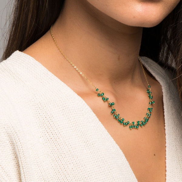 COLLAR HOLLY GREEN