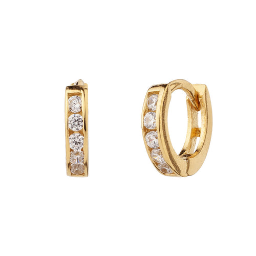 PENDIENTES HOOPS BRIGHT GOLD