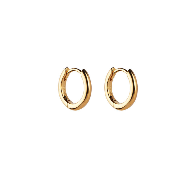 PENDIENTES HOOPS MINI GOLD