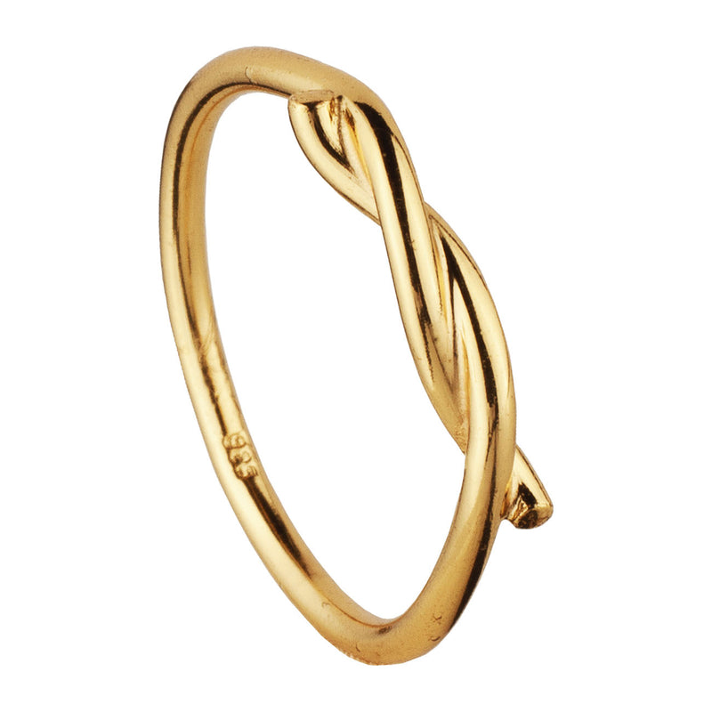 ANILLO KNOT GOLD